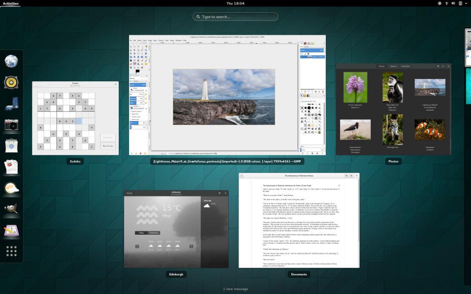 GNOME 3.x