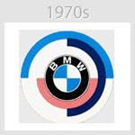 bmw logo 1970