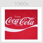 coca cola logo 1960