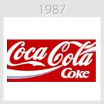 coca cola logo 1987