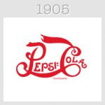 pepsi logo 1905