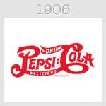 pepsi logo 1906