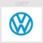 volksvagen logo 1967