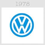 volksvagen logo 1978