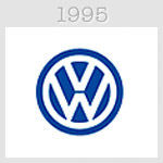 volksvagen logo 1995
