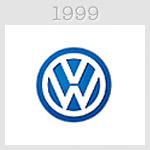 volksvagen logo 1989