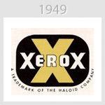 xerox logo 1949