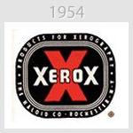 xerox logo 1954