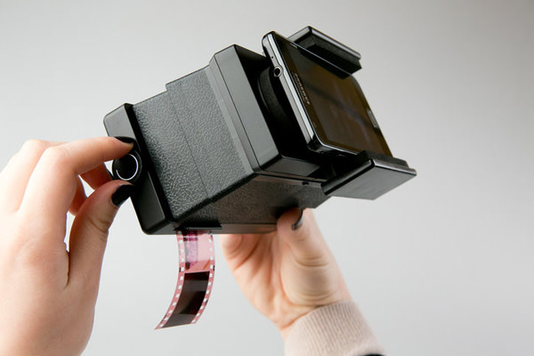 lomography scanner with rolling film