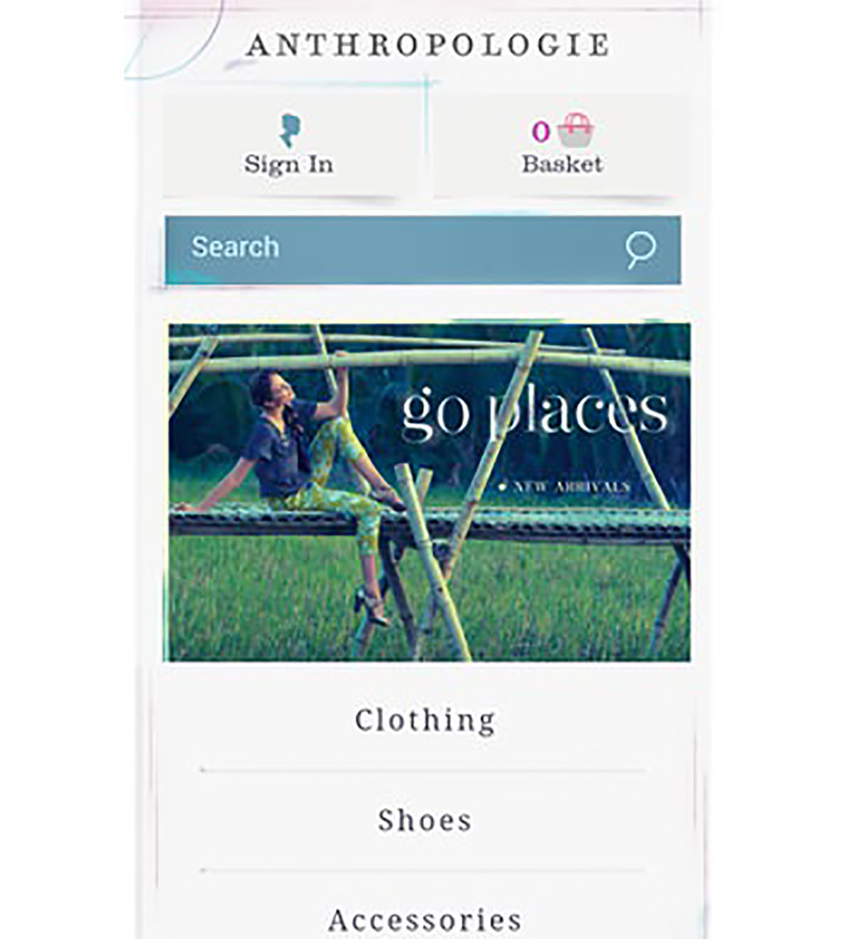 anthropologie mobile image