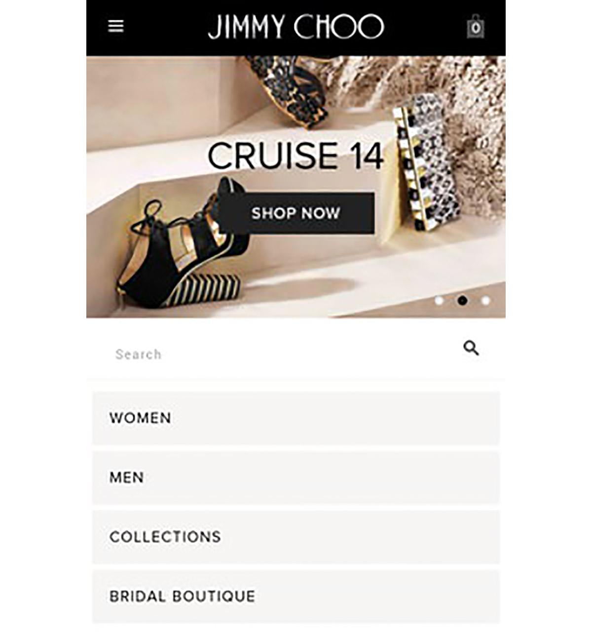 jimmy choo website