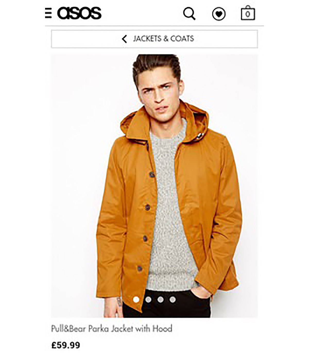asos product page