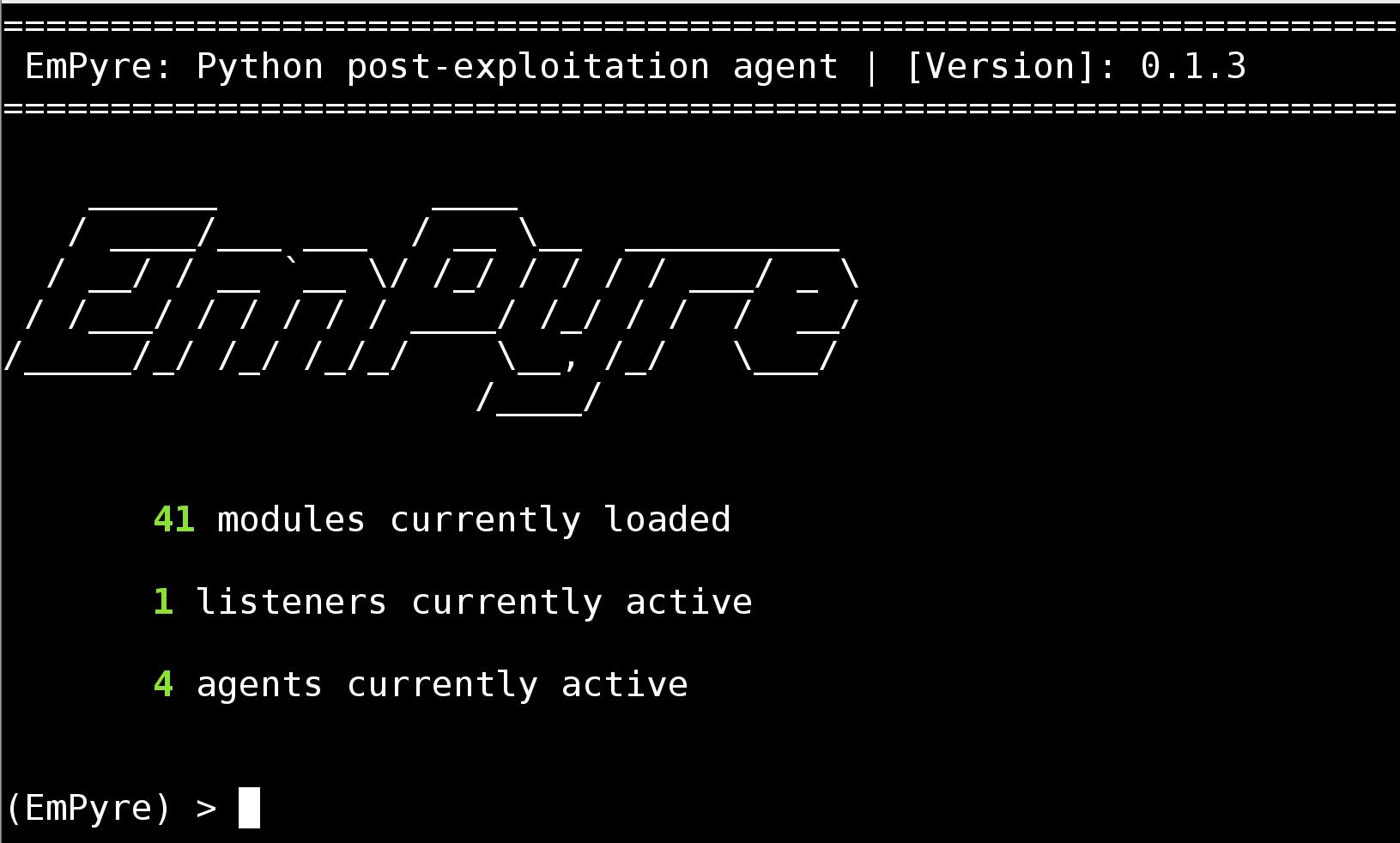 python post exploitation
