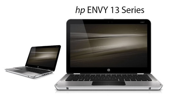hp ENVY 13 Series Tech Specs