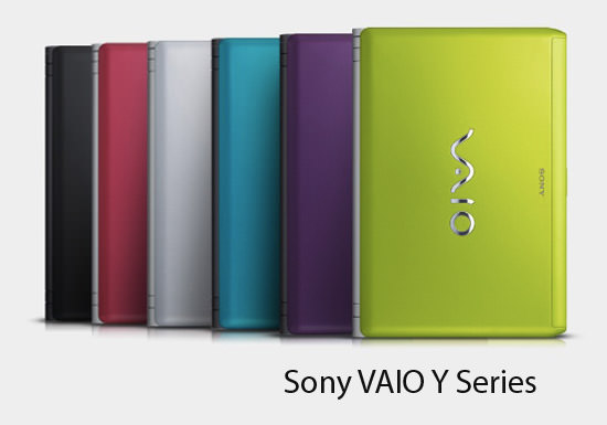 Sony VAIO Y Series Tech Specs