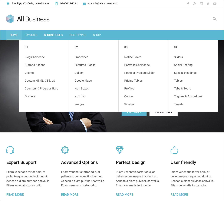 All Business WordPress Theme