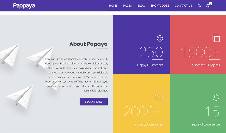 Pappaya WordPress Theme