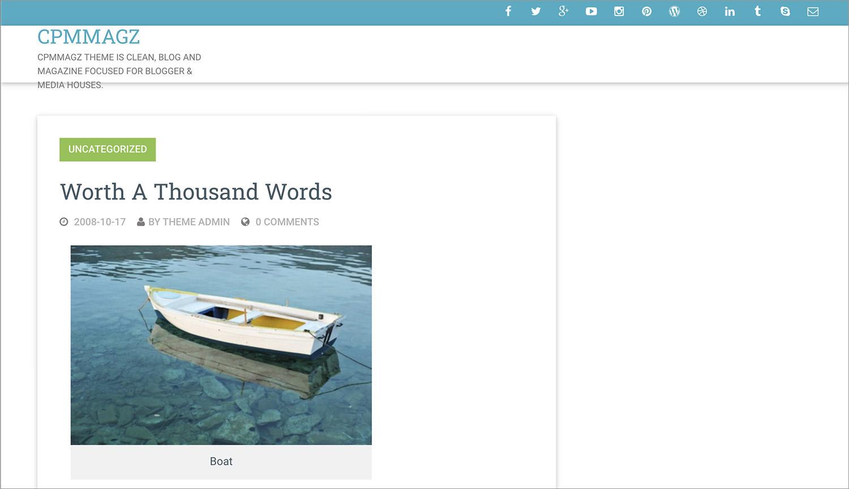 CPMmagz WordPress Theme