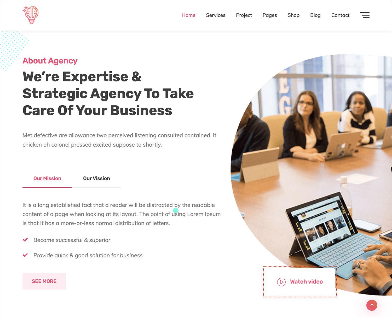 Ideabuz WordPress Theme