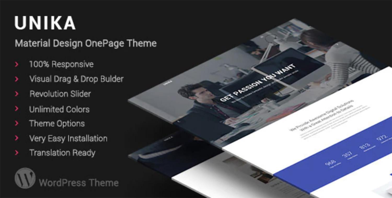 Unika WordPress Theme