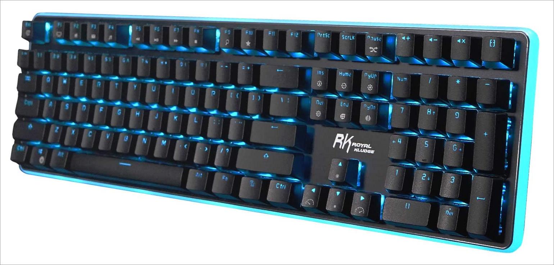 Mechanical keyboard sizes 100%