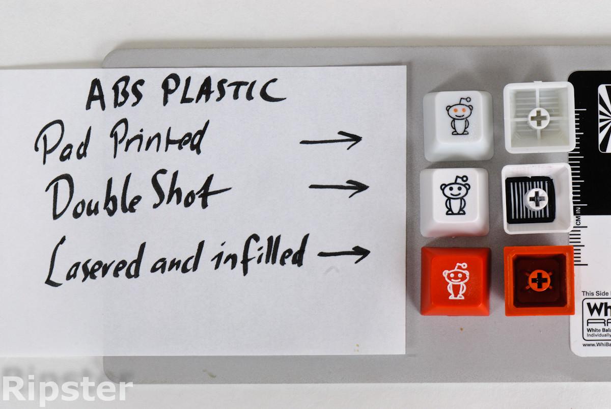 Mechanical keyboard molding