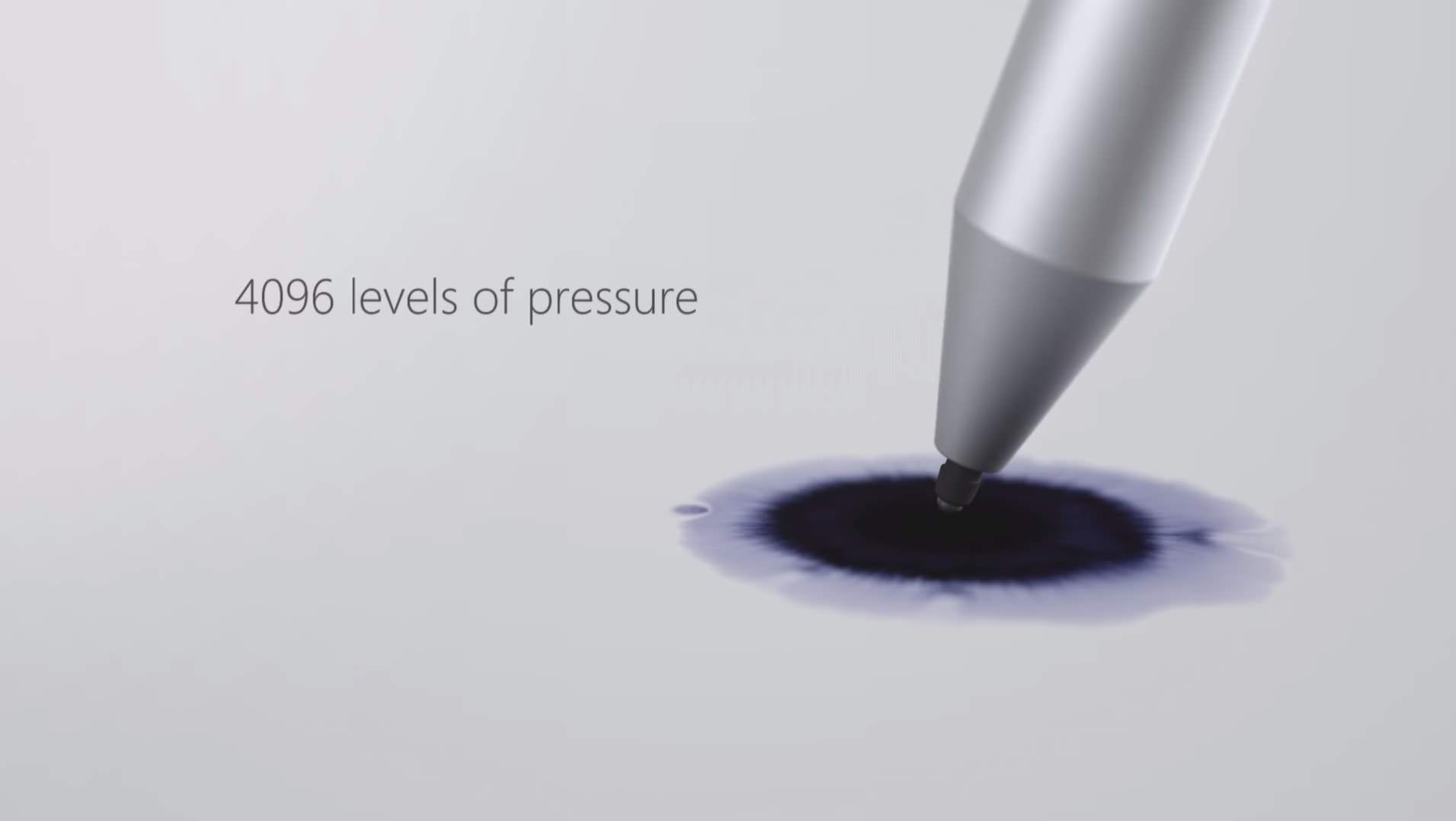 pressure sensitivity