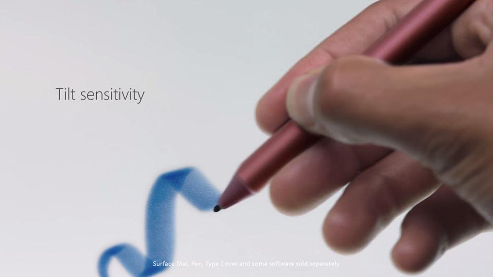 tilt sensitivity