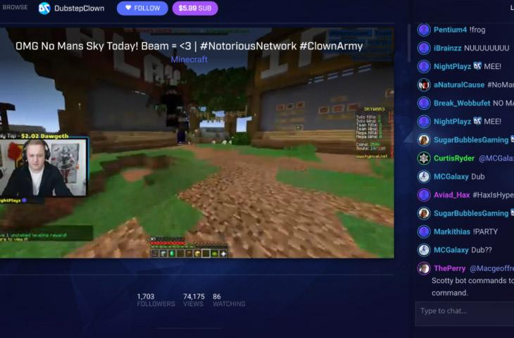 beam live stream