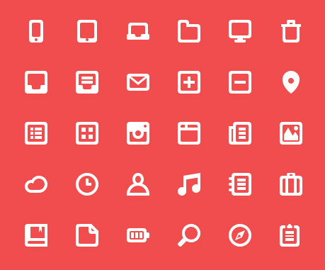 30 Free Icons