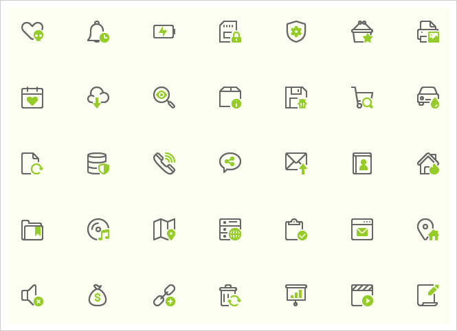 40 Mini Icons