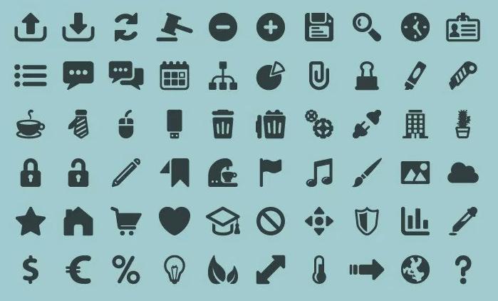 Free Minimal Icons Sets
