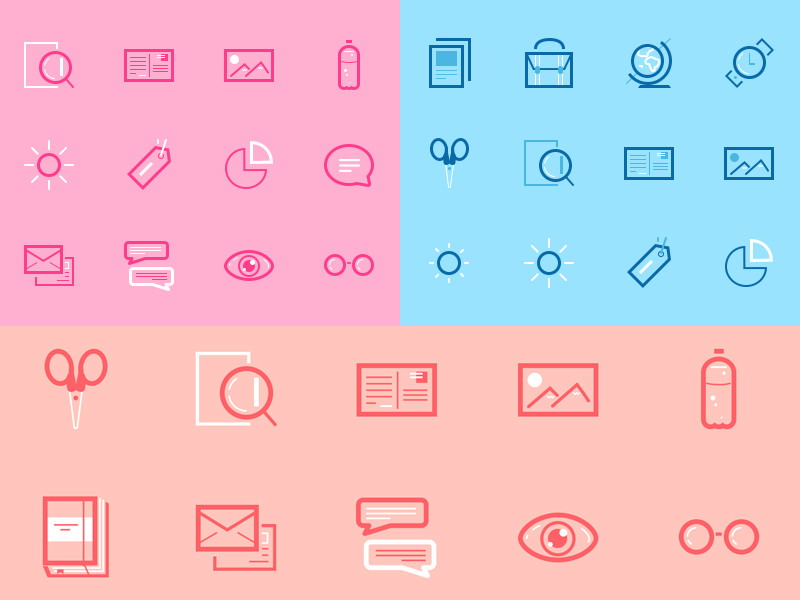 Mini Set Icons free