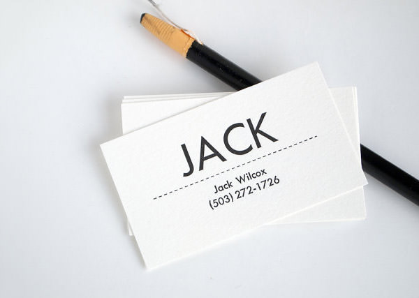 20 minimalistic professional business card designs hongkiat colourmoves Images