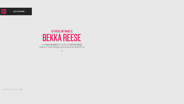 20 minimalist portfolio designs you ll love hongkiat