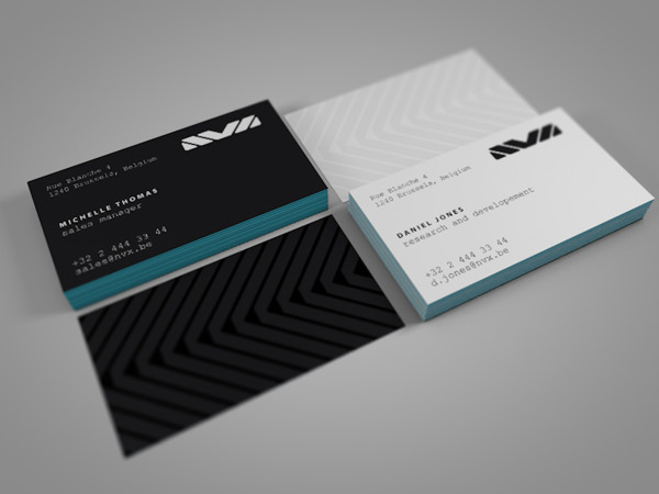 20 minimalistic business card designs for your inspiration hongkiat 13 nvx laboratories by adams and oanna to colourmoves