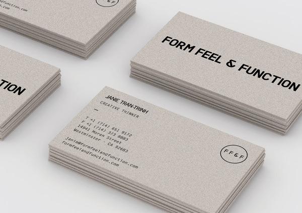 Minimalist Business Card By Mihai Ursu