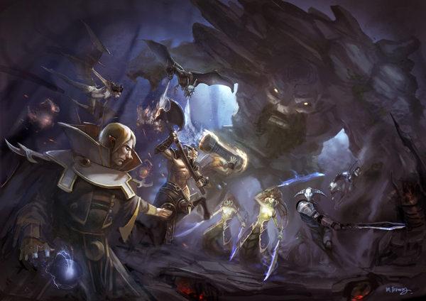Heroes of DotA 2