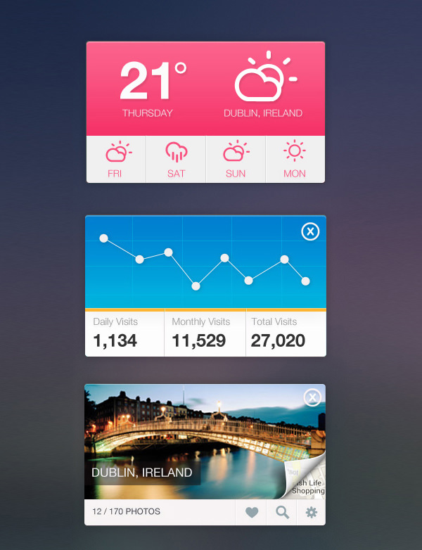 20 mobile user interface design for your inspiration hongkiat - Ui Design Ideas