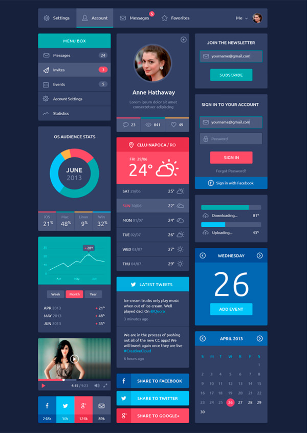 20 beautiful mobile user interface for your inspiration app design ideas - Ui Design Ideas