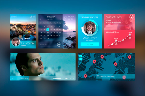 20 Mobile User Interface Design for Your Inspiration - Hongkiat