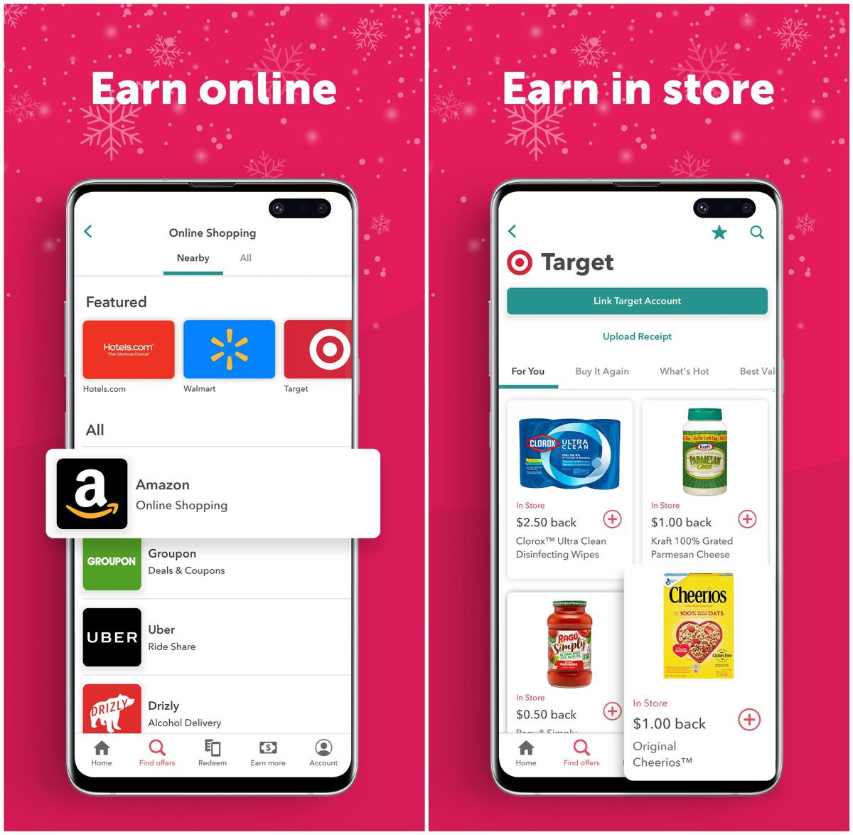 Ibotta helps you earn cash back and more