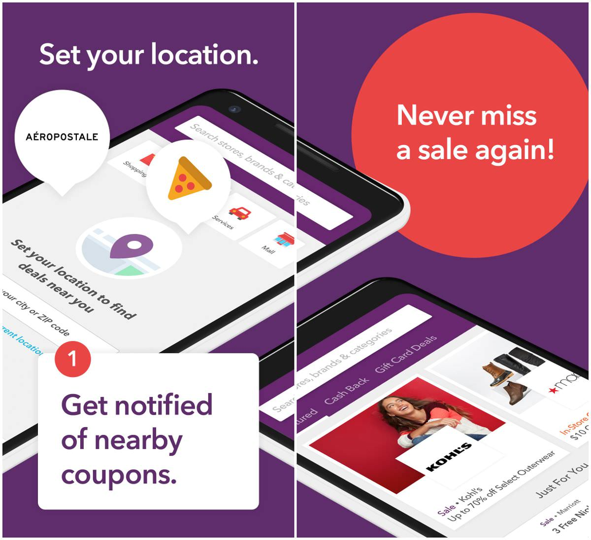 RetailMeNot offers coupons and discounts