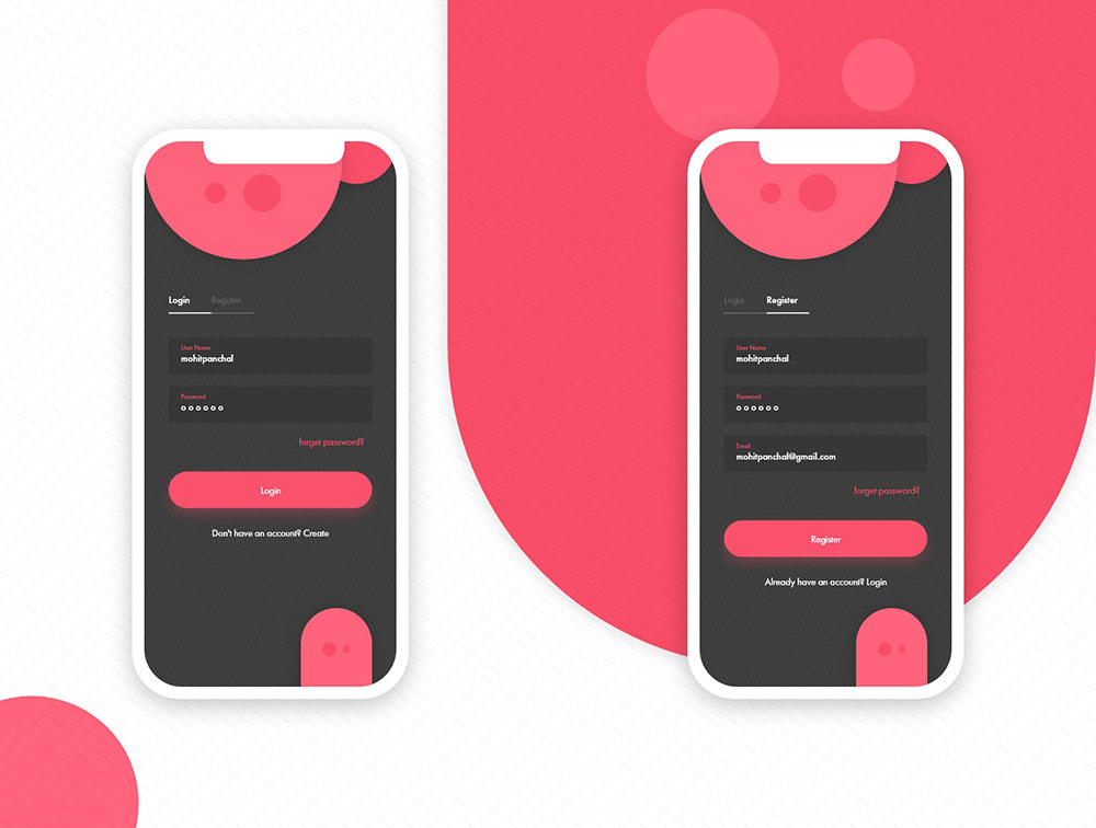 01-Mobile-App-Login-Screen-UI-Kit
