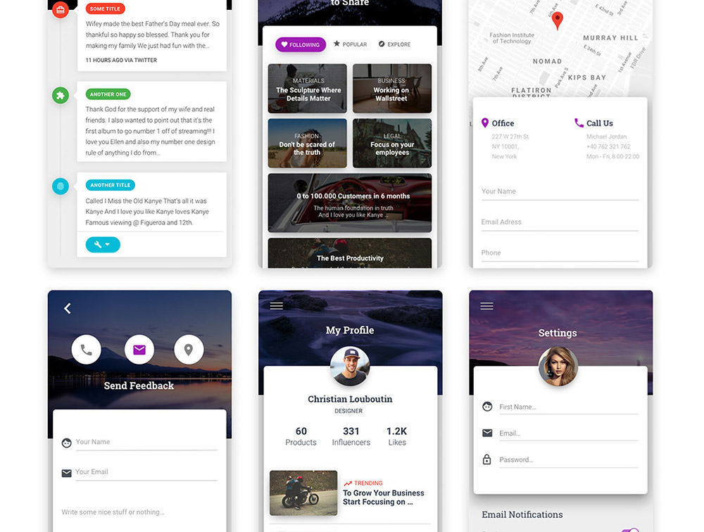 Mobile-Material-Design