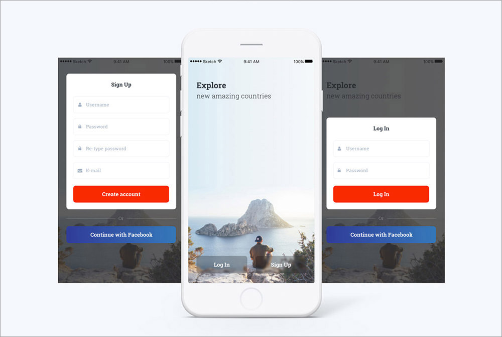Travel-App-UI-KIT