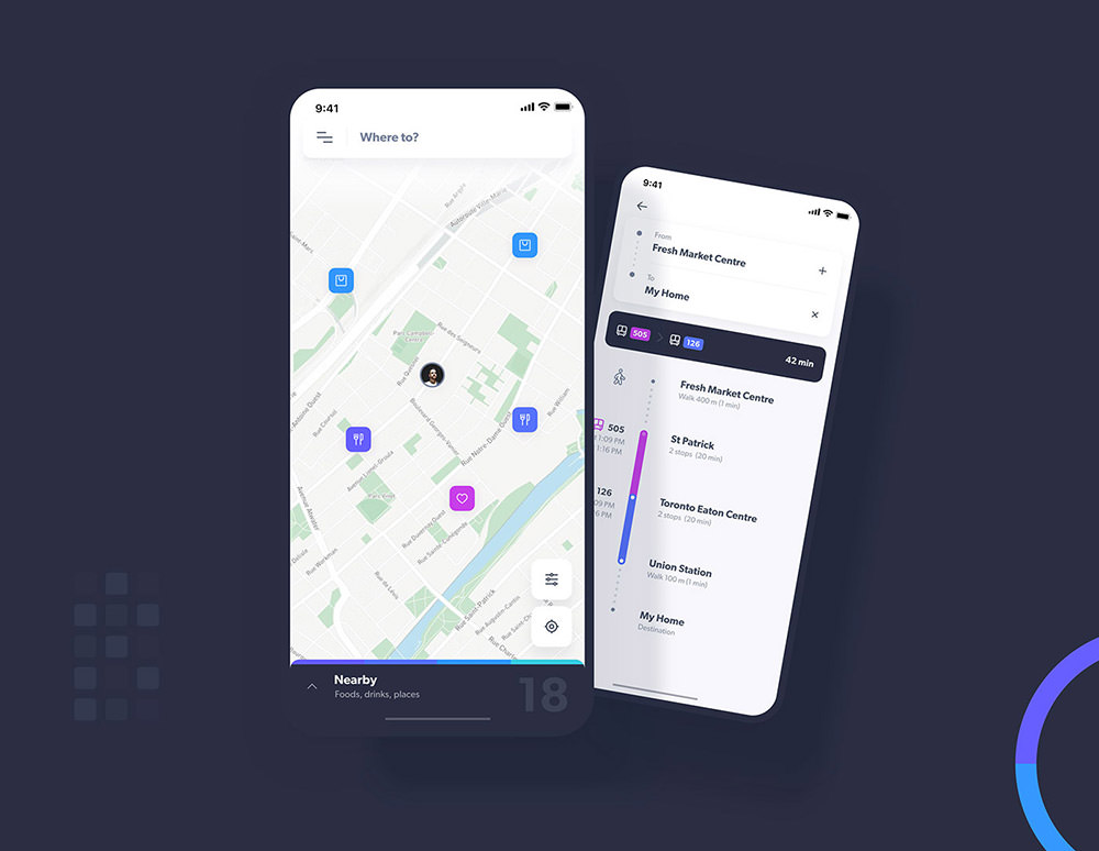 Navigo-Transportation-UI-Kit