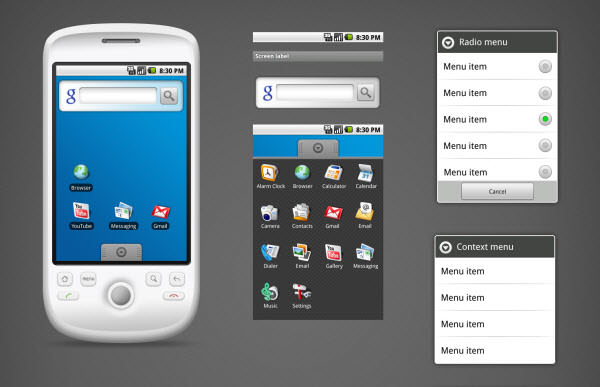 android gui v10