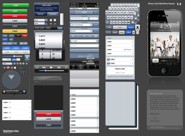 iphone 4 gui