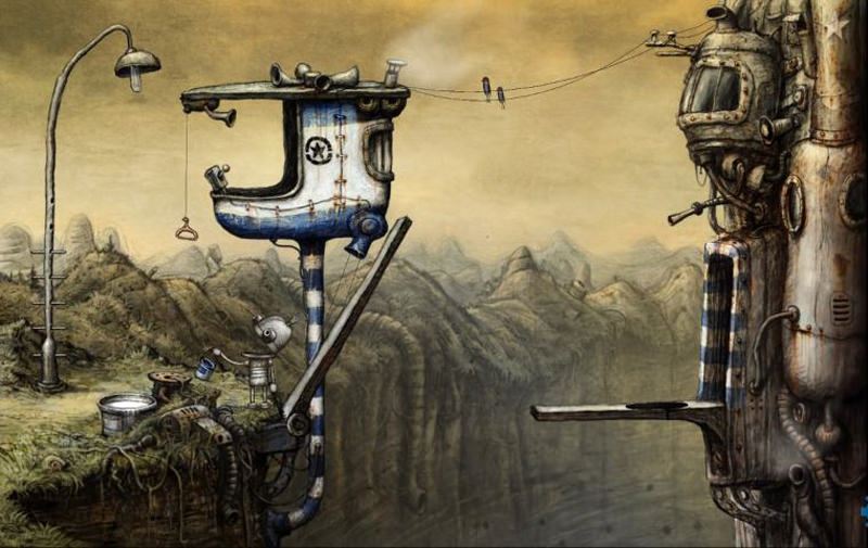 Machinarium landscape